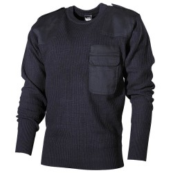 BW пуловер, синий, акрил