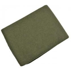 Шерстяное одеяло AB Mountainhill, 228 х 150 см, оливково-зеленый