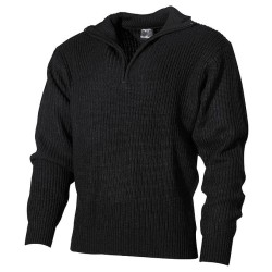 Mereväe sviiter, must