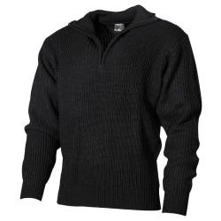 ВМС свитер, акрил, черный