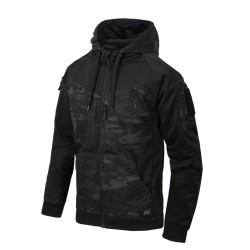 Helikon Rogue (full zip) pusa, Black / MultiCam® Black