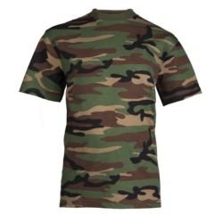 Дети футболка - woodland