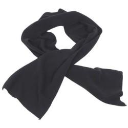 Fleece Scarf, black