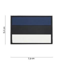 """патч Velcro PVC, """"Эстонский флаг"""""""