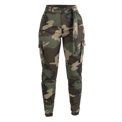 Mil-tec naiste püksid Army, woodland camo