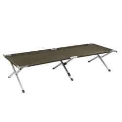 Mil-tec US Field bed, 210X70cm, aluminium, green