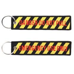 """Keychain, """"Danger do not pull"""""""