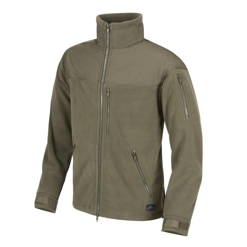 Helikon Classic Army fleece jacket, Olive Green