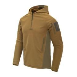Helikon Range Topcool hoodie, coyote/adaptive green