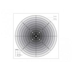Paber märklehed 100tk, 14 x 14mm