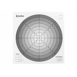Paper Shooting Targets 100pcs, 14 x 14mm, ver.2