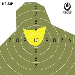 RS Paper Shooting Targets NT23P, 10pcs