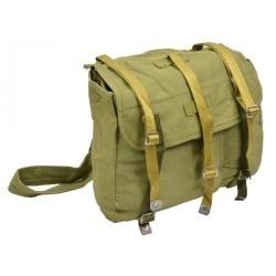 Romanian army used bread bag, green