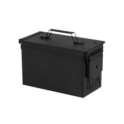 US Ammo Box, cal. 30, M19A1, metal, black