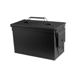 US Ammo Box, cal. 50, M2A1, metal, black