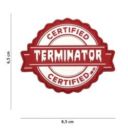"Velcro märk ""Terminator"" 3D"