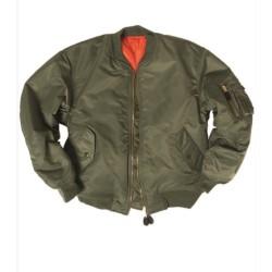 Mil-tec US Basic Flight Jacket, MA1®, olive green