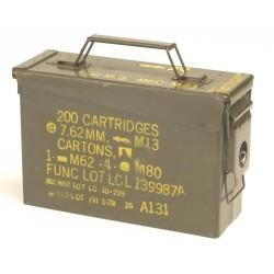 US Army Ammo Box cal 7.62, used