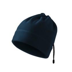 Malfini 2in1 Fleece hat-scarf, dark blue