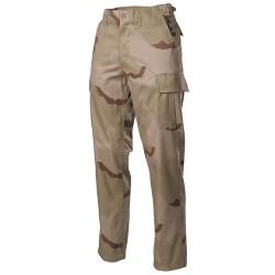 U.S. BDU välipüksid (field pants), Kõrbelaik 3 värvi