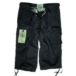 Air Combat 3/4 lühikesed püksid, must
