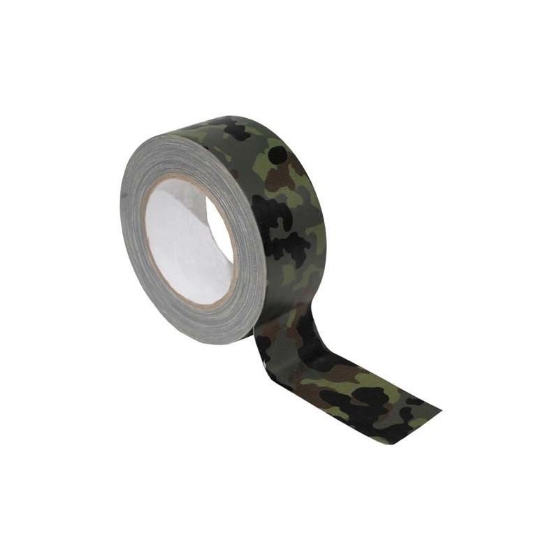 BW Fabric Tape, BW camo 25m