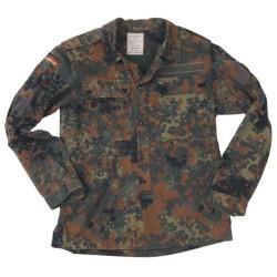 Bundeswehr jacket, BW camo, used