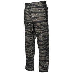 US BDU Field Pants, Rip Stop, tiger stripe