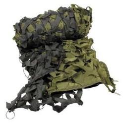 Maskeerimisvõrk 2x3m oliivroheline