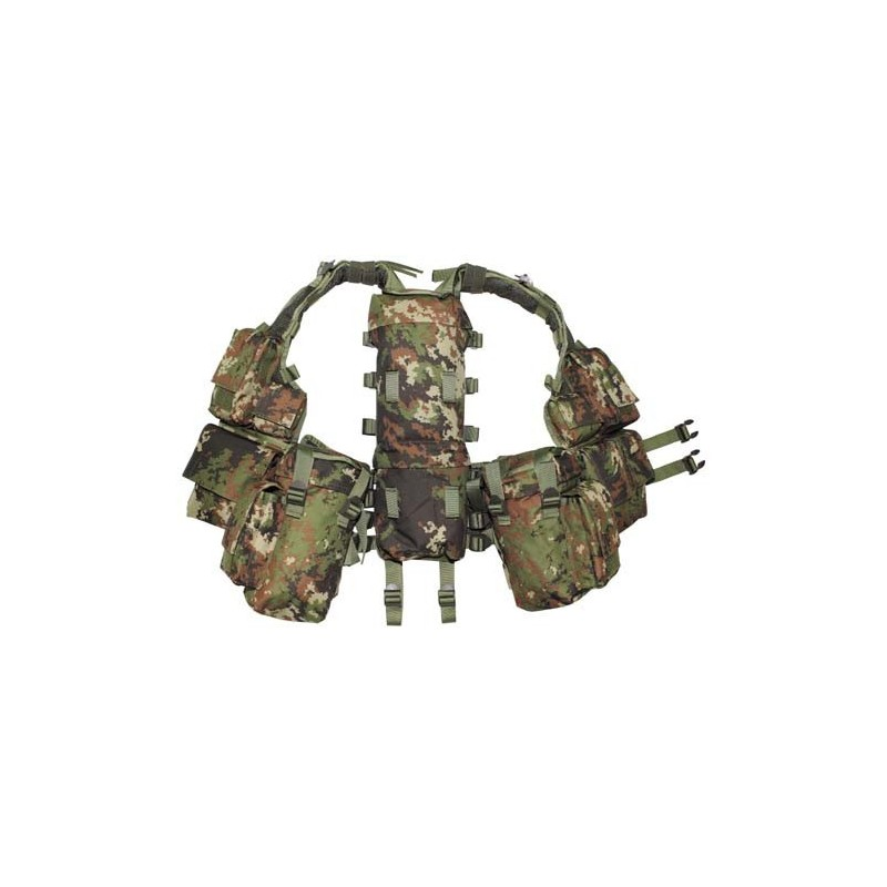 Taktikaline vest 12 taskut, Vegetato