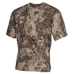 US футболка, в классическом стиле, Snake FG