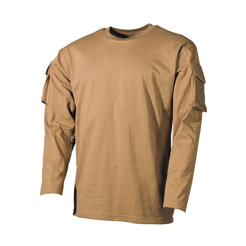 US футболка coyote, с рукавом карманы
