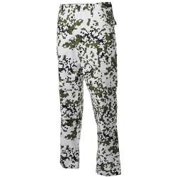 US BDU Field Pants, Rip Stop, snow camo