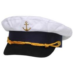 ВМС колпачок, якорь золотым шитьем, размер регулируемый