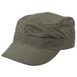 US BDU Field Cap, Rip Stop, OD green