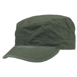 U.S. BDU Field cap, nokamüts, oliivroheline stonewashed