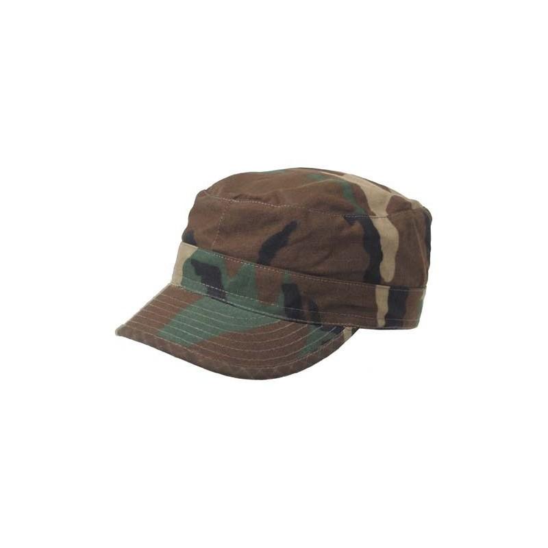 US BDU Field Cap, Rip Stop, woodland