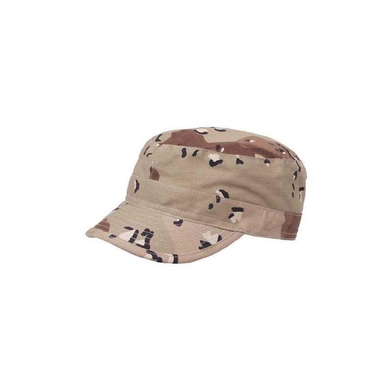 U.S. BDU Field cap, nokamüts, 6-värviline kõrbelaik