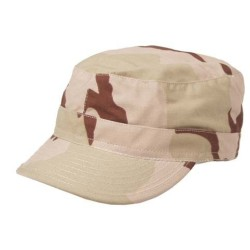 U.S. BDU Field cap, nokamüts, 3-värviline kõrbelaik