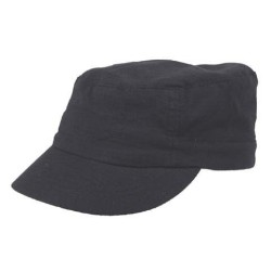 "US Cap, ""Elasti-Fit"", black, Rip Stop"