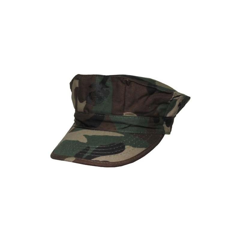 US Marine Corp Cap, woodland