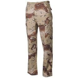 US BDU Field Pants, Rip Stop, 6 col. desert
