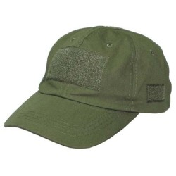 Operations Cap, nokamüts velcro, oliivroheline