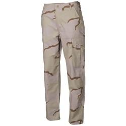 US BDU Field Pants, Rip Stop, 3 col. desert