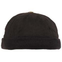 Шляпа черная, без козырька