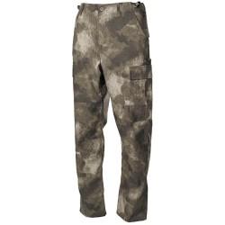 US BDU Field Pants, Rip Stop, HDT camo