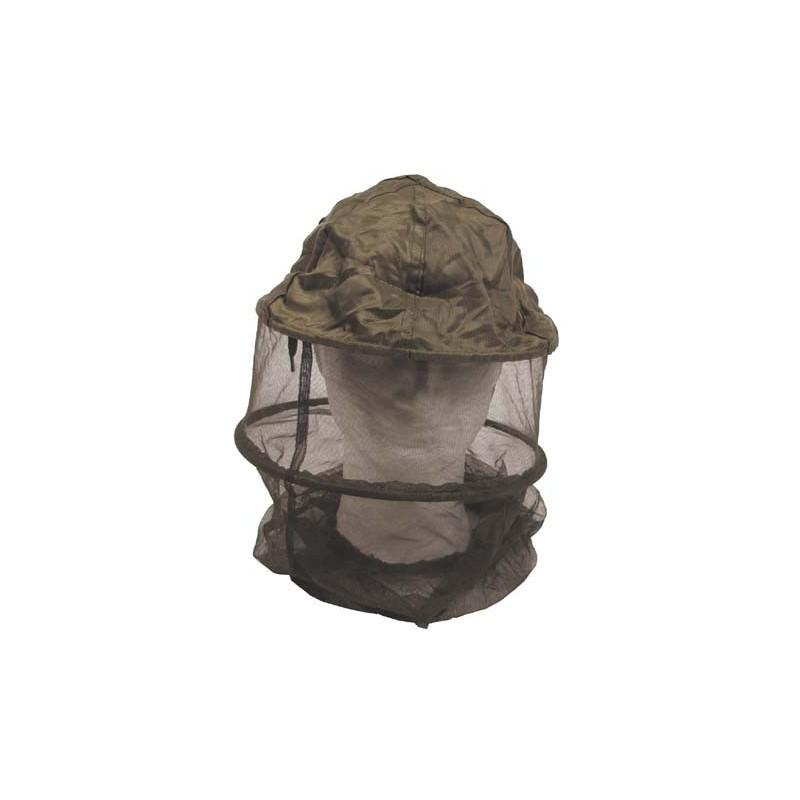 Mosquito Head Net, OD green, w/metal ring