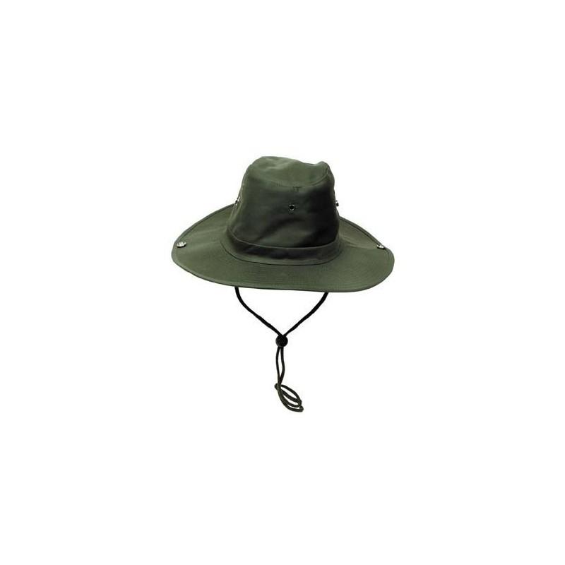 Bush Hat, chin strap, OD green