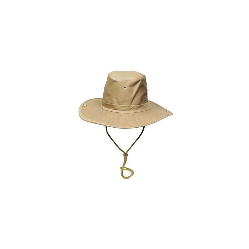 Bush Hat, chin strap, khaki