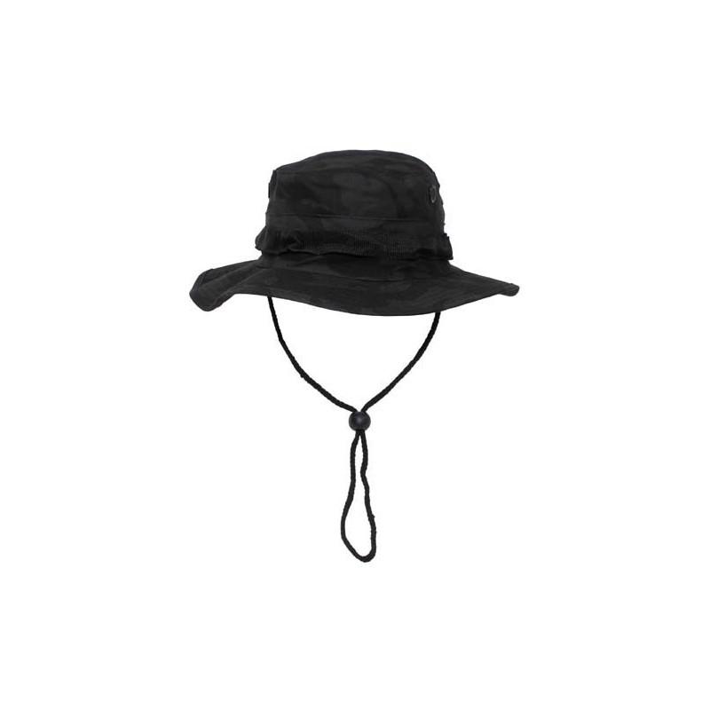 US GI Bush Hat, Rip Stop, chin strap, night camo